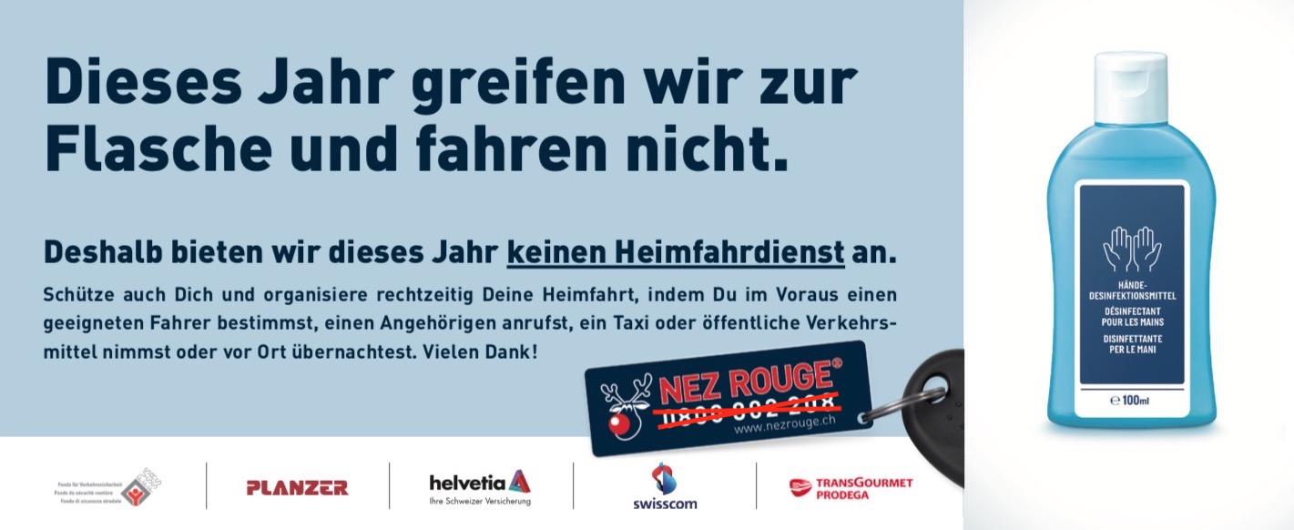 kein Fahr-Service - Telefonnummer durchgestrichen